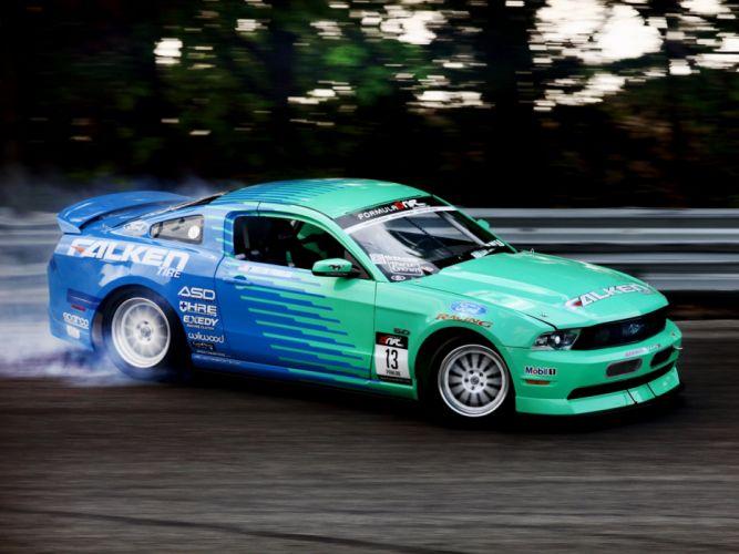 2009-11 Ford Mustang G-T Formula Drift muscle race racing g wallpaper