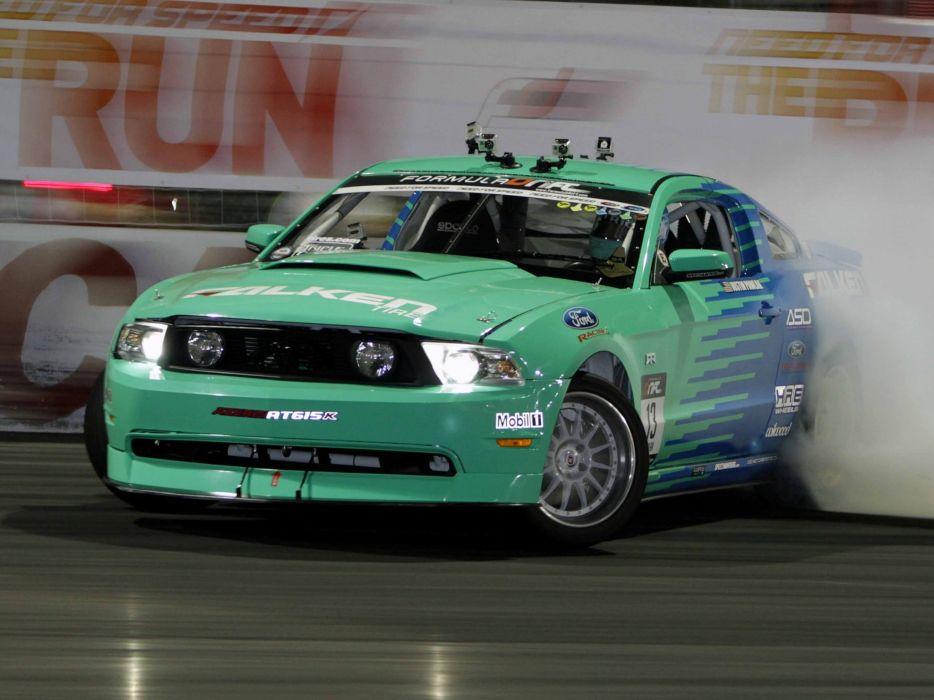 2009-11 Ford Mustang G-T Formula Drift muscle race racing     h wallpaper