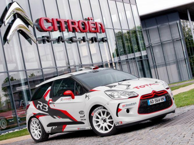 2010 Citroen DS3 R-3 race racing fv wallpaper