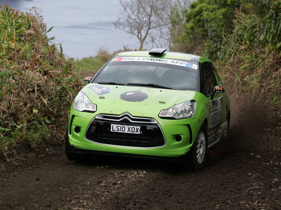 2010 Citroen DS3 R-3 race racing v wallpaper
