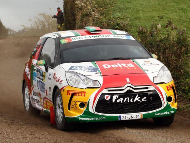 2010 Citroen DS3 R-3 race racing e wallpaper