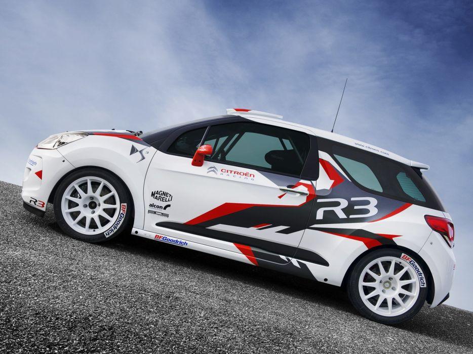 2010 Citroen DS3 R-3 race racing     g wallpaper
