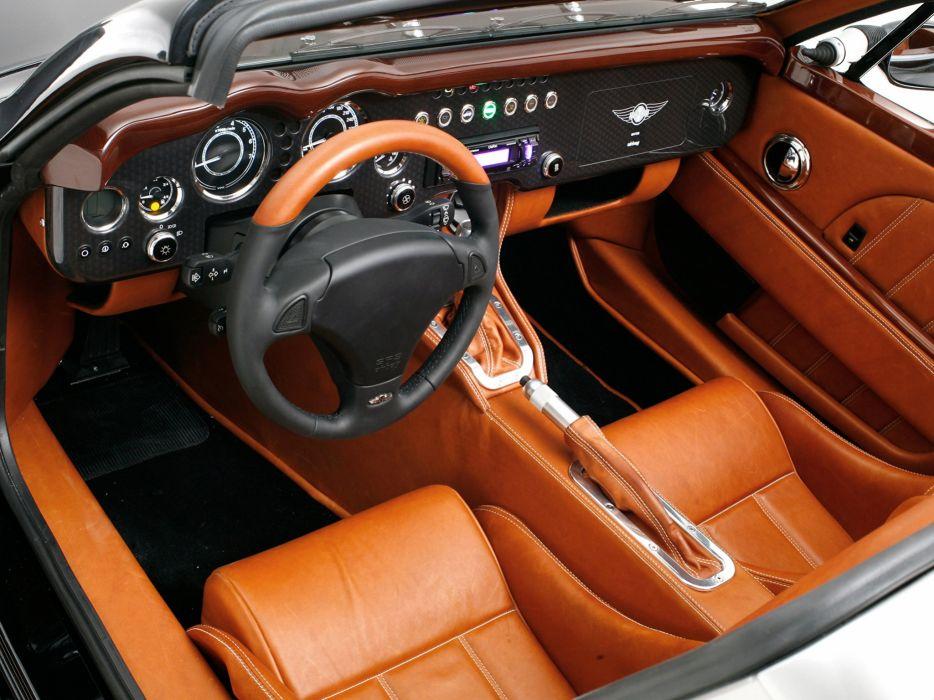 2010 Morgan Aero Super Sports supercar interior   d wallpaper