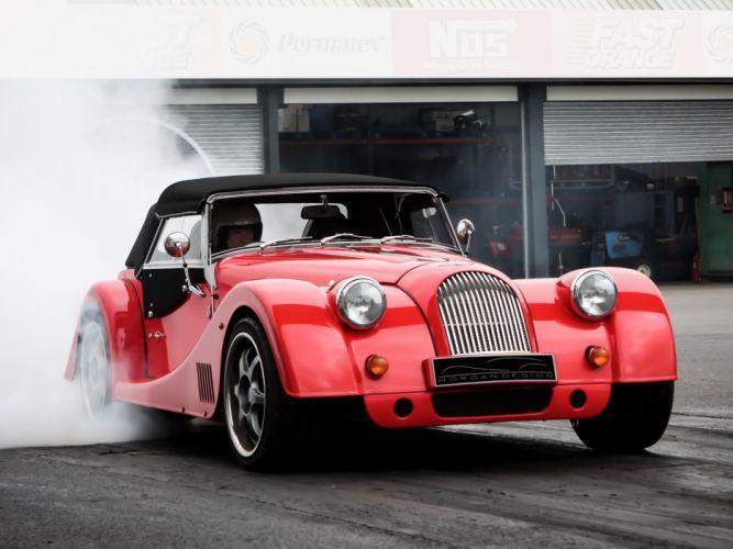 2012 Morgan Plus 8 supercar plus-8 race racing drag d wallpaper