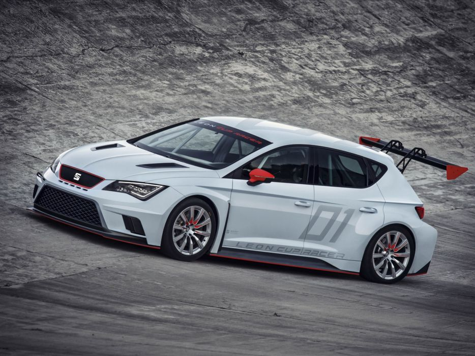 2013 Seat Leon Cup Racer race racing v wallpaper