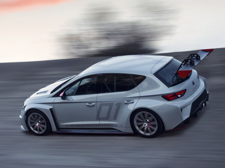 2013 Seat Leon Cup Racer race racing c wallpaper