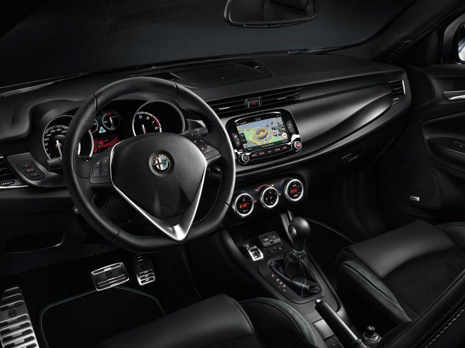 2014 Alfa Romeo Giulietta Quadrifoglio Verde (940) interior    d wallpaper