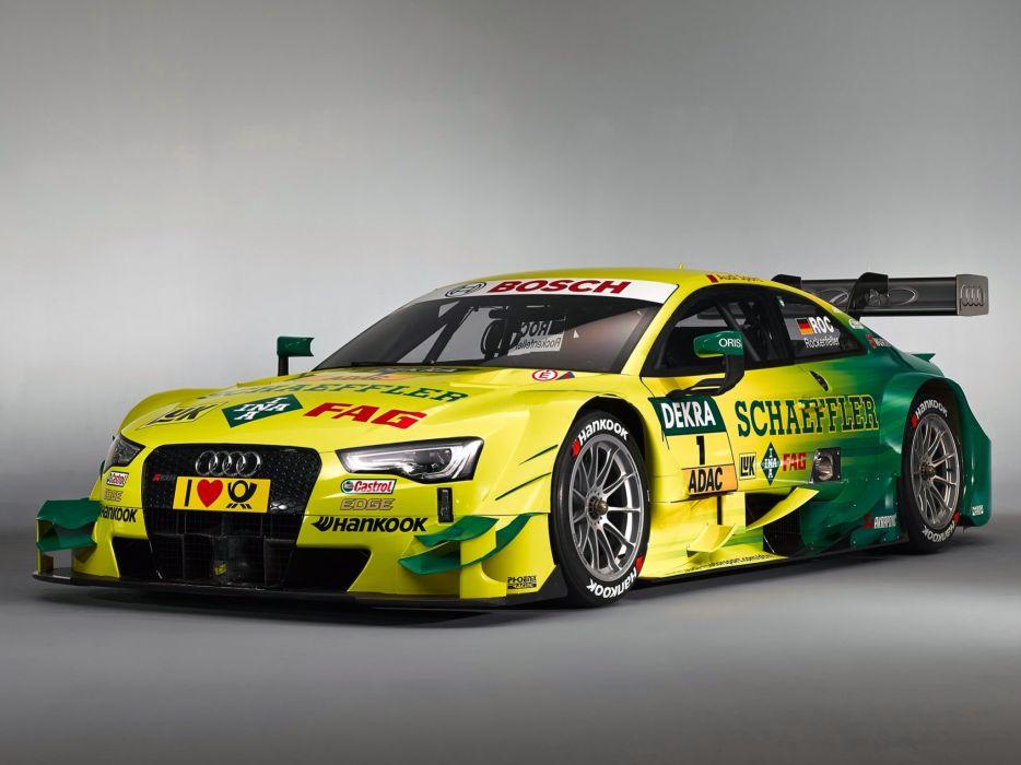 2014 Audi RS5 Coupe DTM race racing  g wallpaper