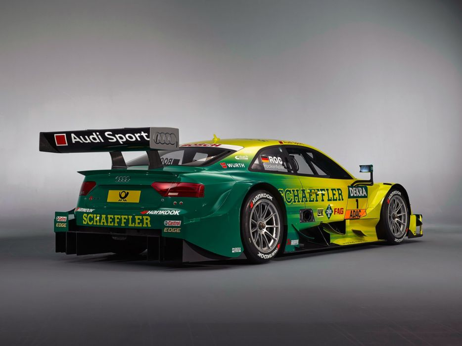2014 Audi RS5 Coupe DTM race racing     gg wallpaper