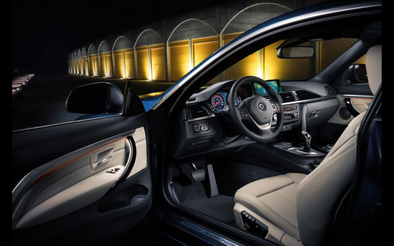 2014 BMW Alpina B-4 Bi-Turbo Coupe interior f wallpaper