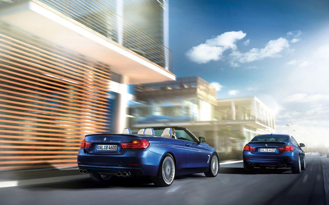 2014 BMW Alpina B-4 Bi-Turbo Coupe  fa wallpaper
