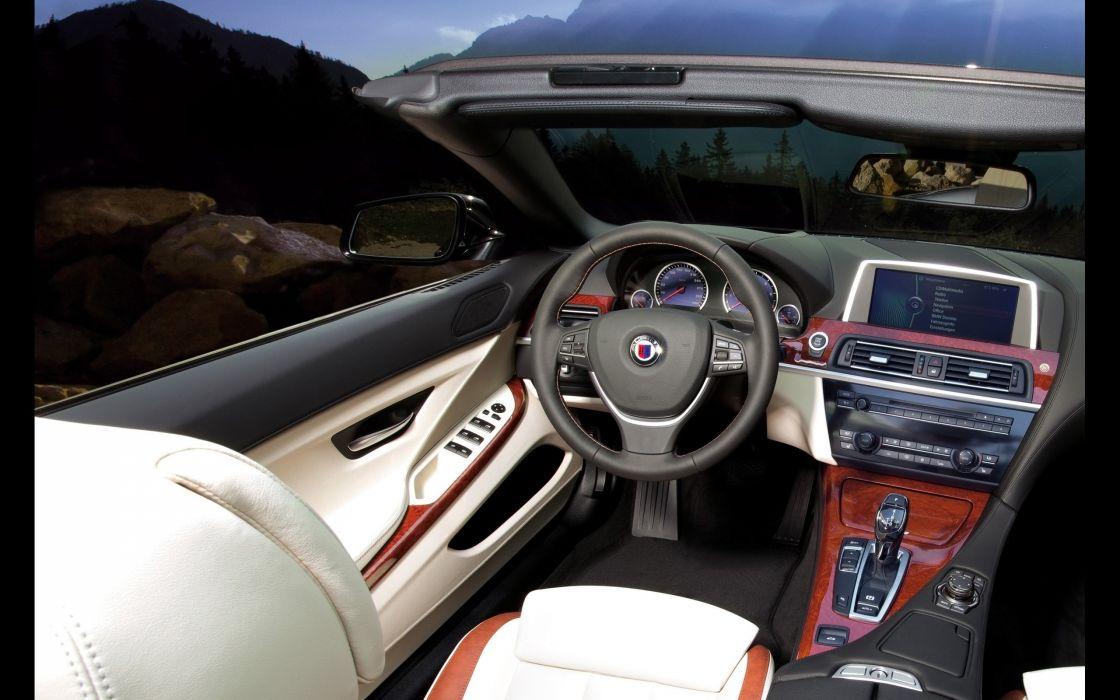 2014 BMW Alpina B6 Bi-Turbo Gran Coupe interior   f wallpaper