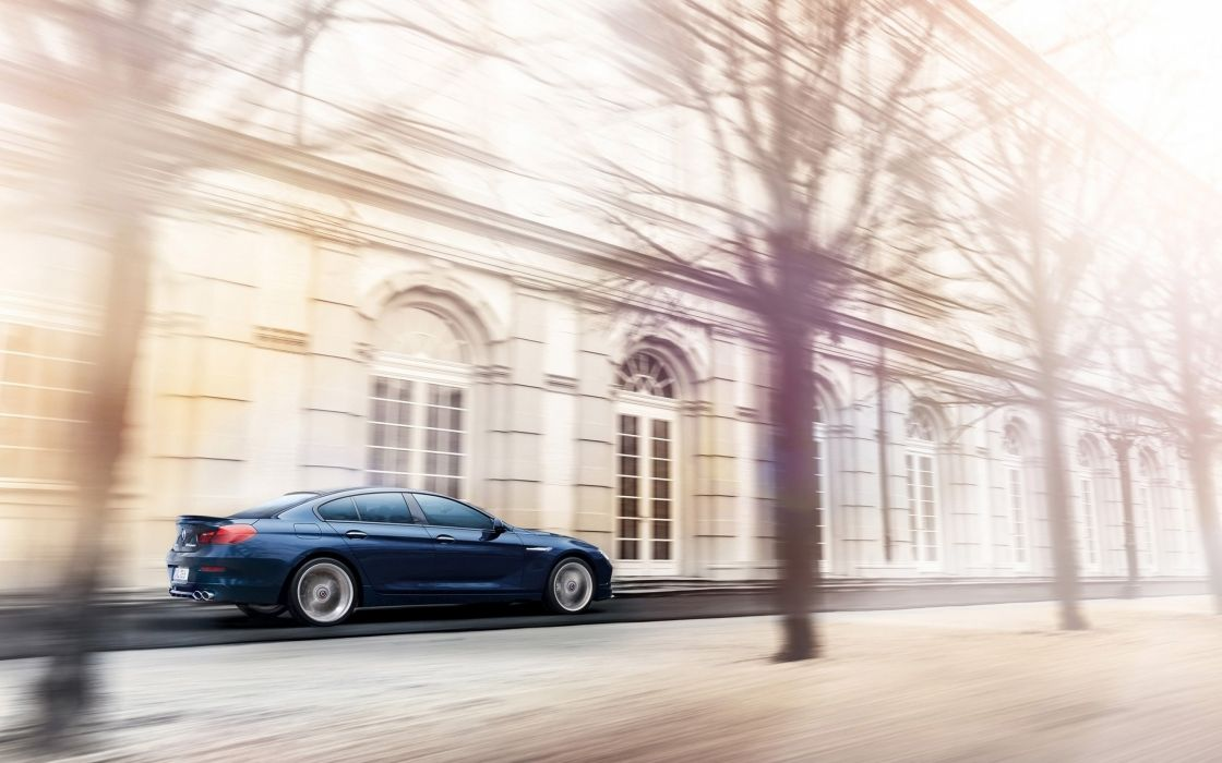 2014 BMW Alpina B6 Bi-Turbo Gran Coupe  f wallpaper