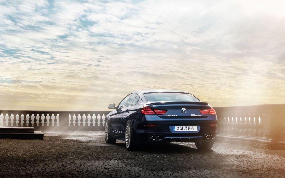 2014 BMW Alpina B6 Bi-Turbo Gran Coupe   r wallpaper