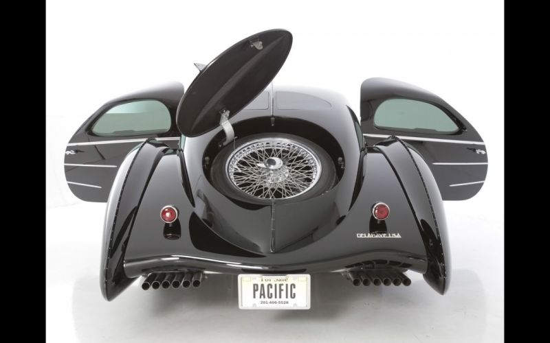 2014 Delahaye USA Pacific supercar luxury wheel f wallpaper