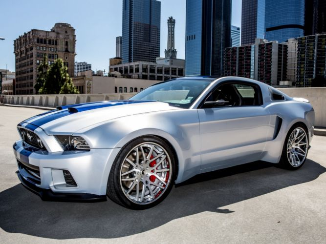 2014 Ford Mustang G-T Need For Speed movoe film supercar muscle hot rod rods tuning g wallpaper