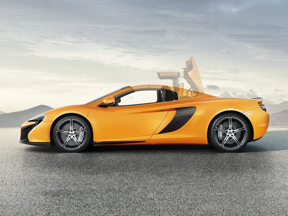 2014 McLaren 650S Spyder supercar      f wallpaper