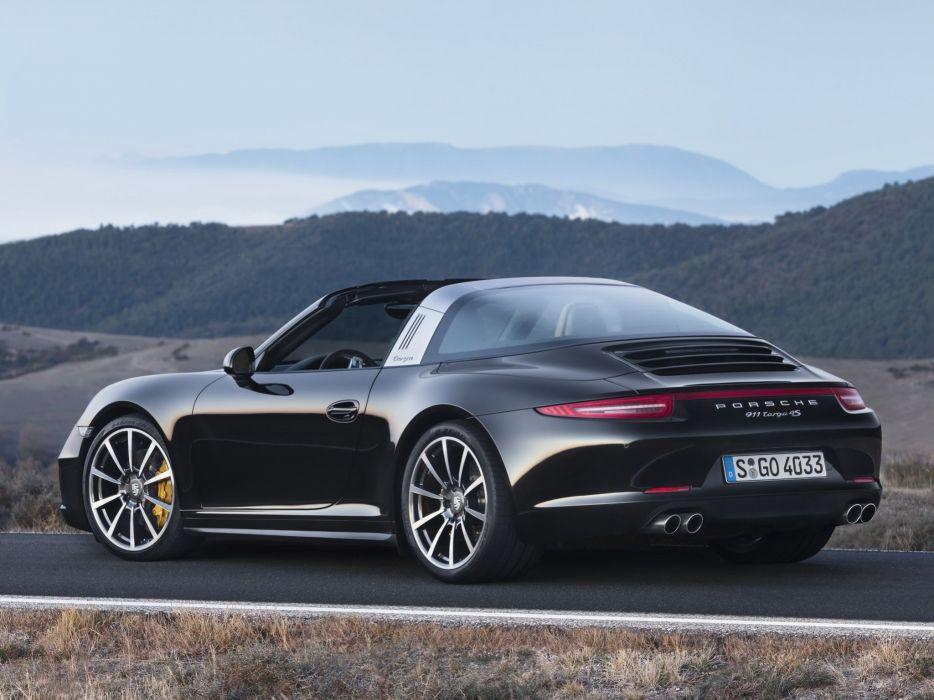 2014 Porsche 911 Targa 4S (991) supercar    h wallpaper