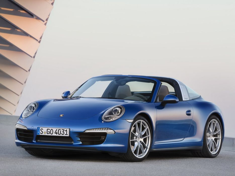 2014 Porsche 911 Targa 4 (991) supercar   gd wallpaper