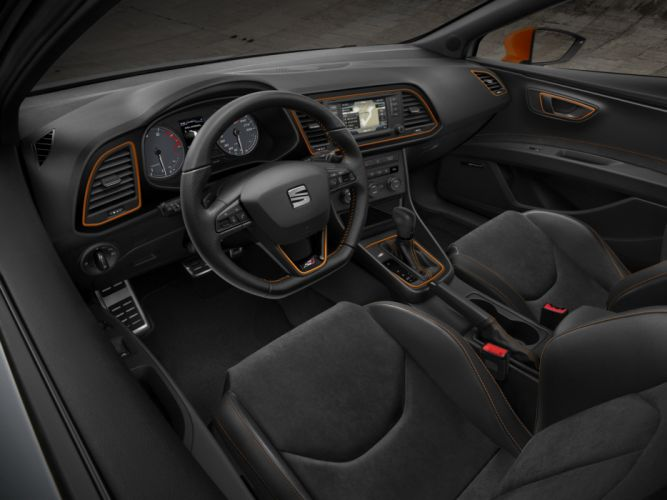 2014 Seat Leon S-C Cupra 280 interior h wallpaper