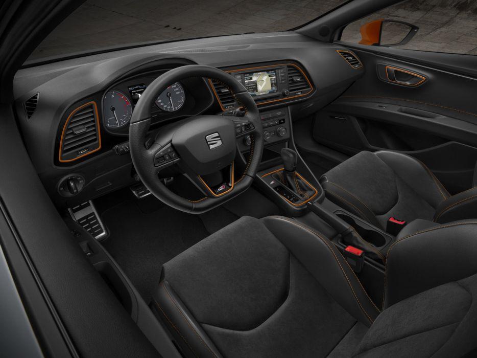 2014 Seat Leon S-C Cupra 280 interior    h wallpaper