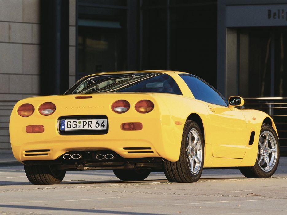 1997-04 Chevrolet Corvette Coupe EU-spec (C-5) supercar muscle   yw wallpaper
