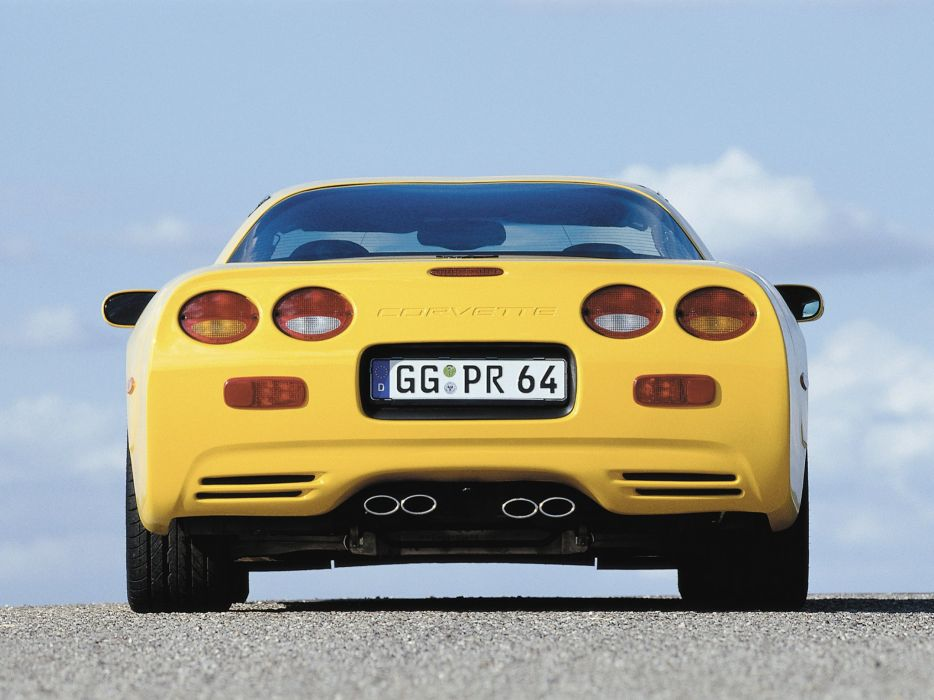 1997-04 Chevrolet Corvette Coupe EU-spec (C-5) supercar muscle   yr wallpaper