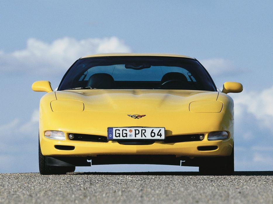 1997-04 Chevrolet Corvette Coupe EU-spec (C-5) supercar muscle   te wallpaper