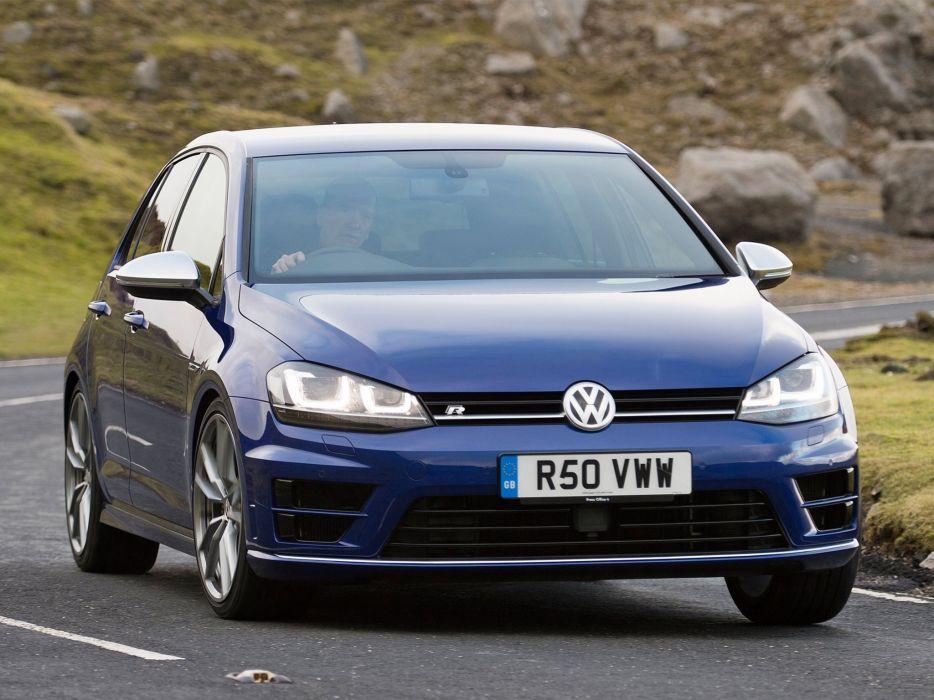 2014 Volkswagen Golf R 5-door UK-spec  v wallpaper
