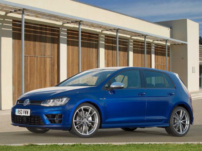 2014 Volkswagen Golf R 5-door UK-spec y wallpaper