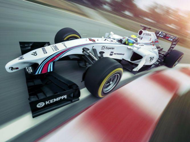2014 Williams FW36 formula f-1 race racing lh wallpaper