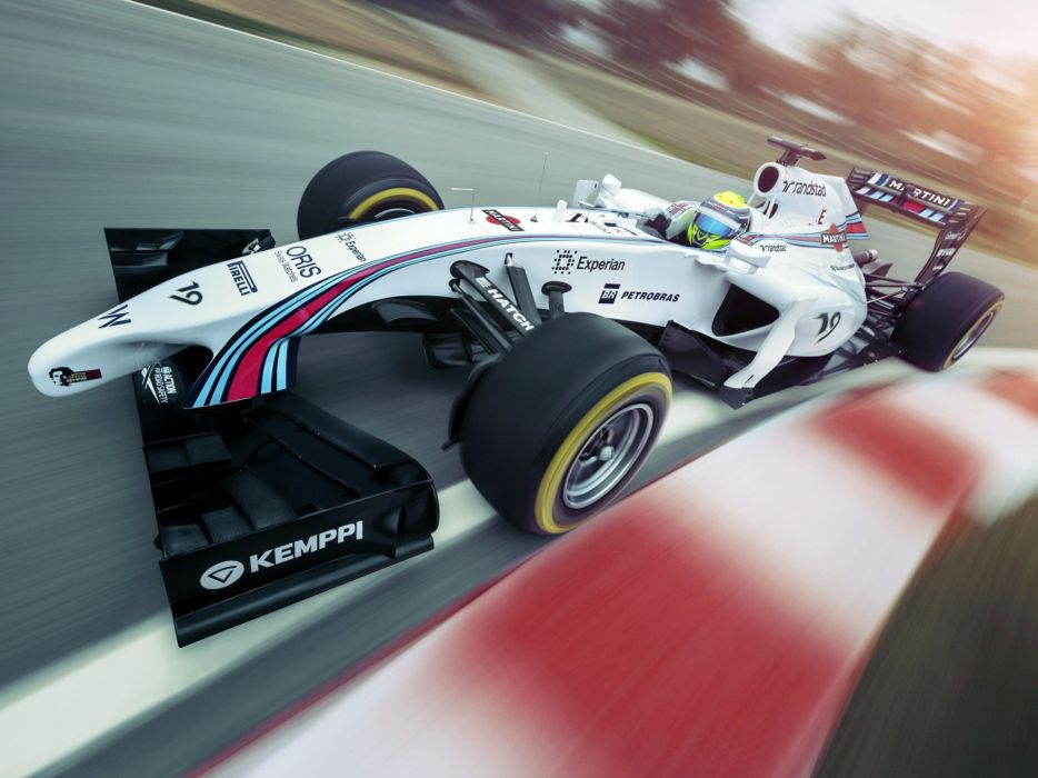 2014 Williams FW36 formula f-1 race racing   lh wallpaper