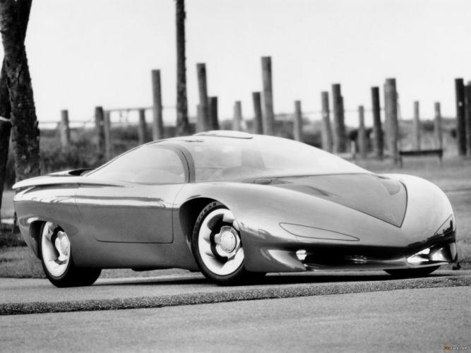 Pontiac Banshee Concept 1988 supercar f wallpaper