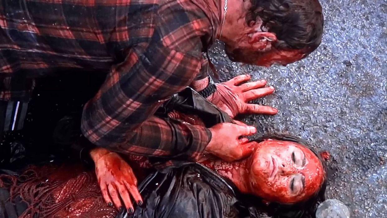SHARKNADO horror sci-fi television movie film blood wallpaper