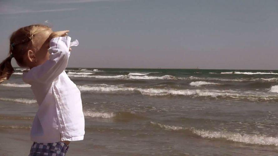 SHARKNADO horror sci-fi television movie film shark girl mood beach child baby wallpaper
