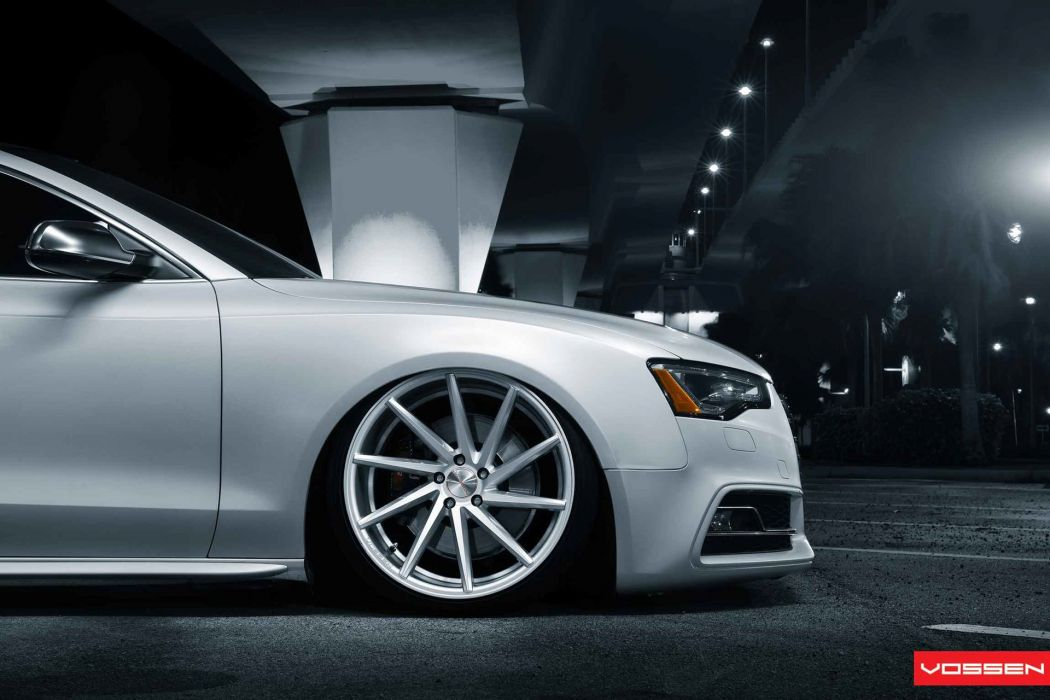 Vossen Audi S-5 tuning wheel  g wallpaper
