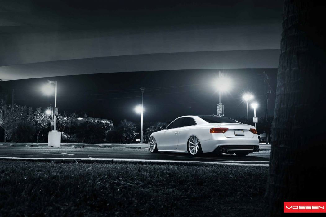 Vossen Audi S-5 tuning         b wallpaper