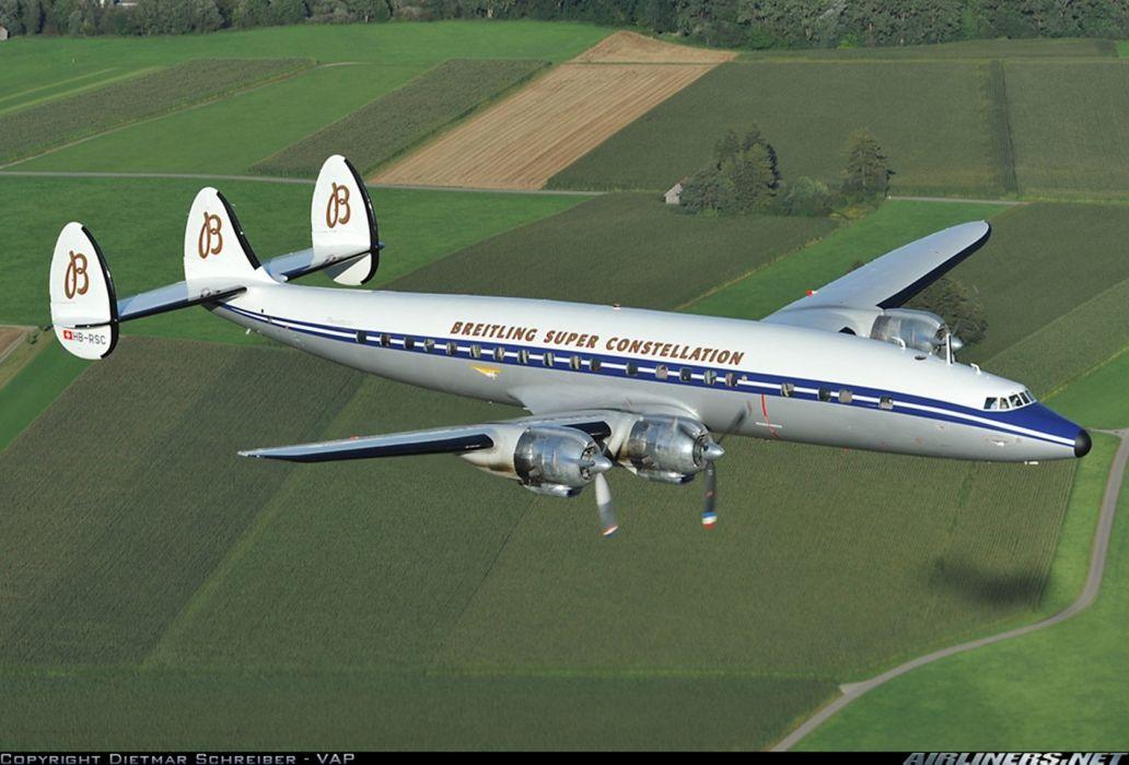 Lockheed L 1049F Super Constellation 1680x1140 wallpaper