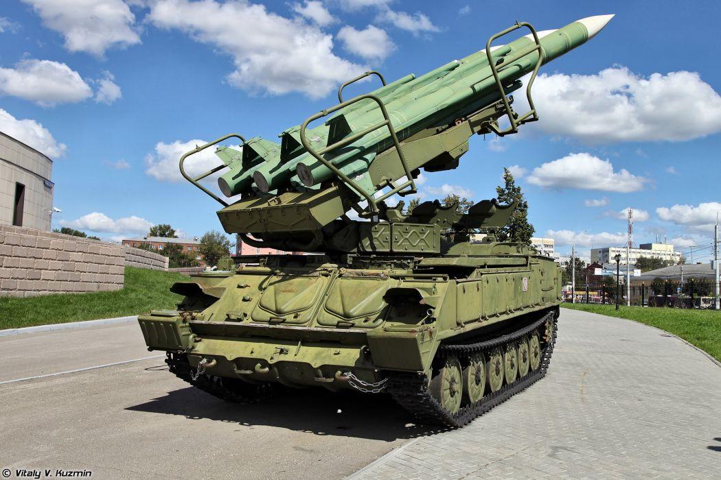 P25M1 TEL Kub-M1 air defence system wallpaper