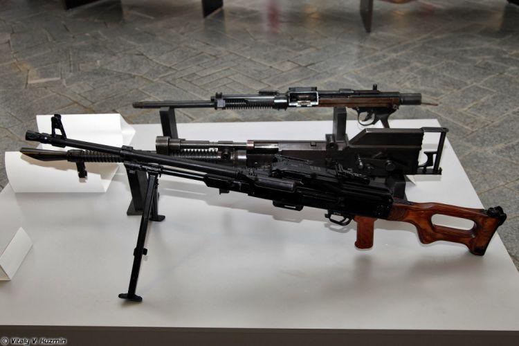 PKM prototype model of Shpitalniy tank machine gun prototype TKB-264 wallpaper