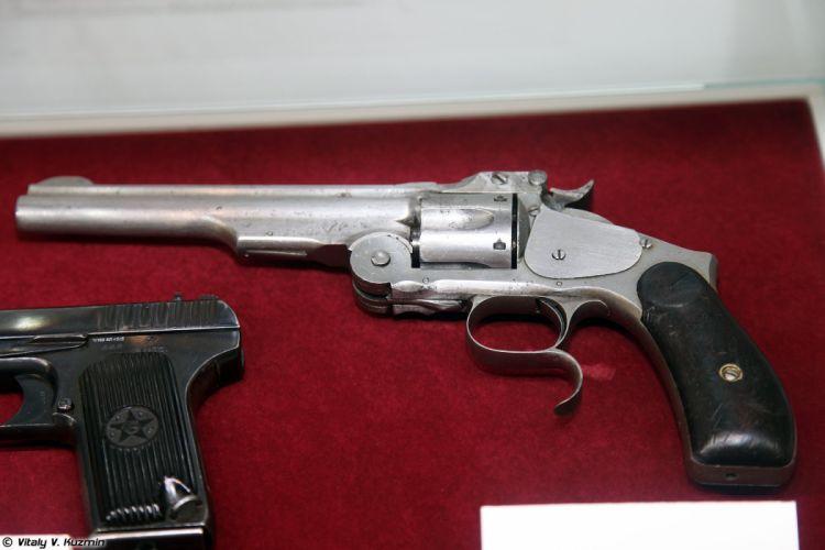 S&W Model 3 revolver 1880 wallpaper