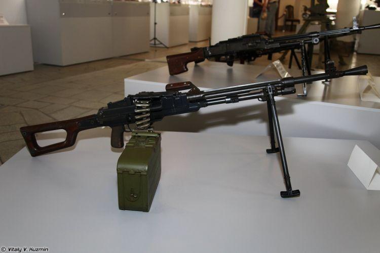 TKB-521 machine gun wallpaper