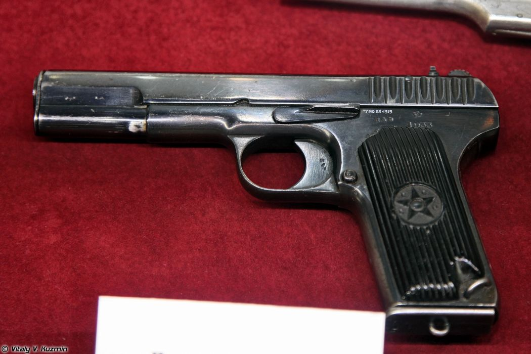 Tokarev pistol TT 1930 wallpaper