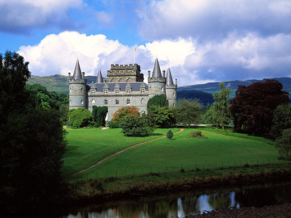 castles wallpaper