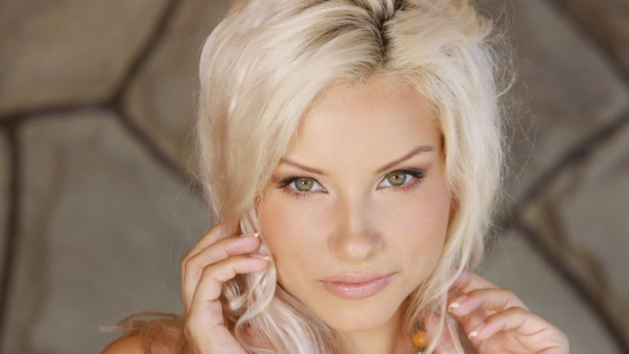 blondes women models lips wallpaper