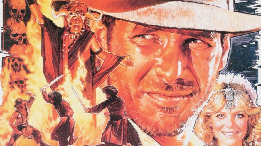 Indiana Jones Indiana Jones And The Temple Of Doom wallpaper