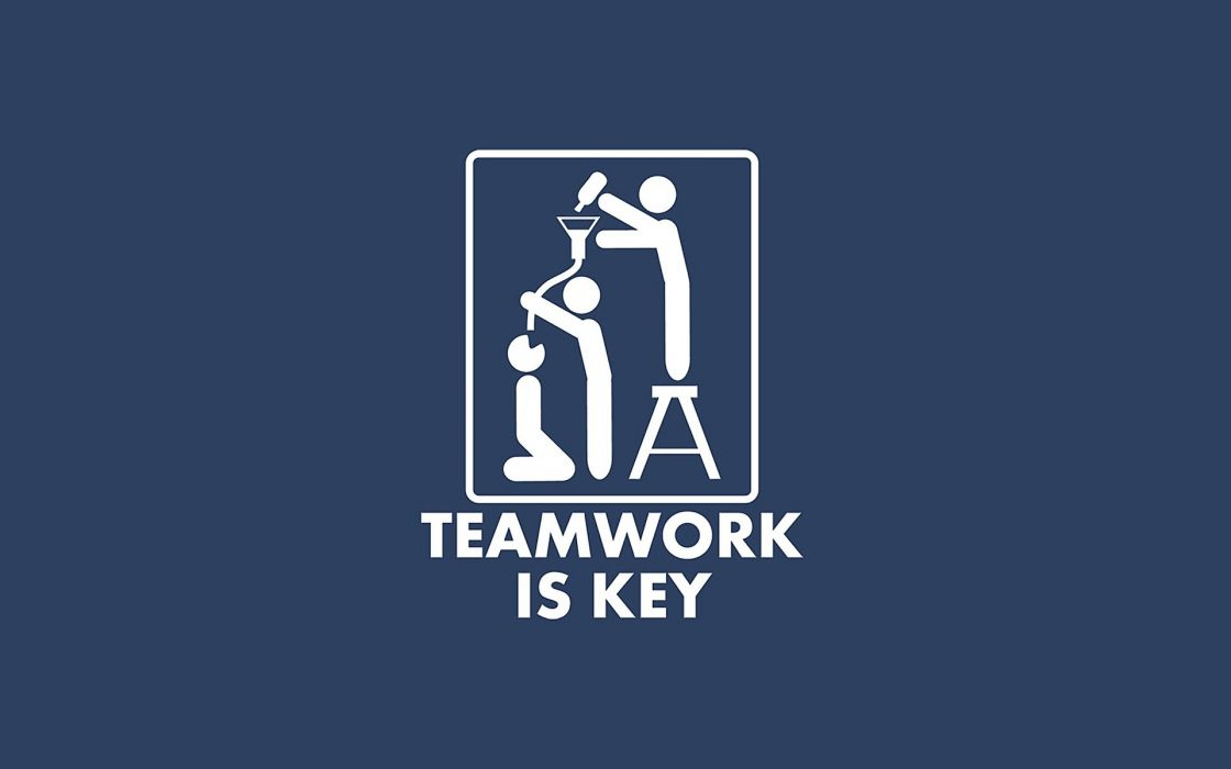 beers minimalistic slogan teamwork wallpaper