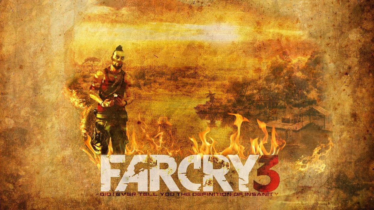 video games Far Cry Far Cry 3 wallpaper
