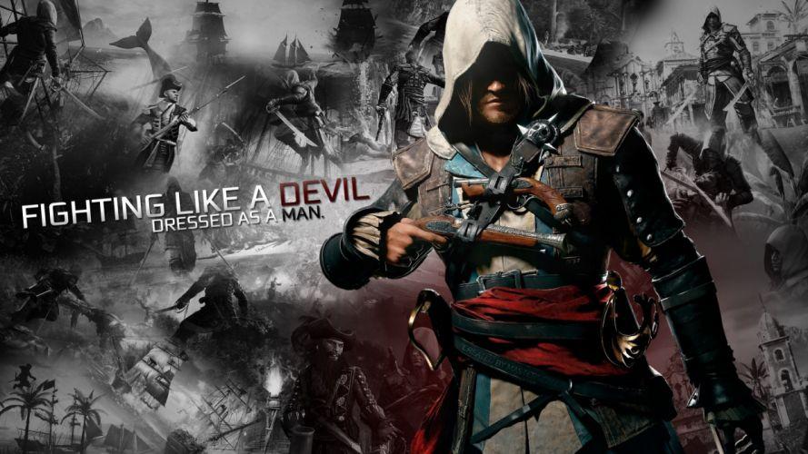 Assassins Creed Black Flag Assassins Creed 4: Black Flag wallpaper
