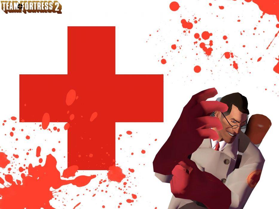 video games Medic TF2 Team Fortress 2 wallpaper